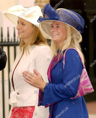 LADY ROSE WINDSOR (L) AND LADY DAVINA WINDSOR