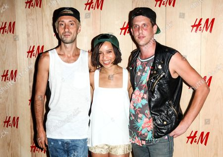 Editorial image of H&M Summer Camp Kickoff event, New York, America - 19 Jun 2014
