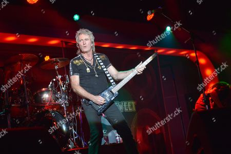 Stock Image of The Giants of Rock Festival, Minehead, Somerset -  Andy Scott's Sweet  - Peter Lincoln