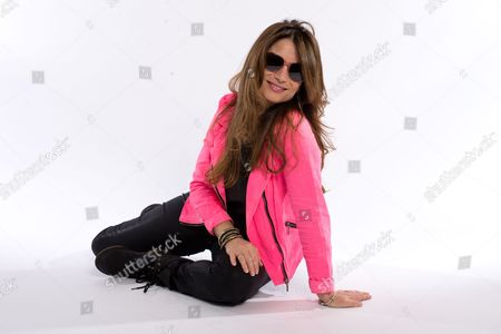 London United Kingdom - July 8: American Rock Vocalist Robin Beck Photographed During A Portrait Shoot For Classic Rock Magazine July 8