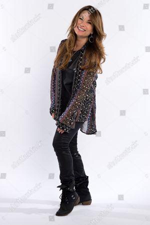 Stock Photo of London United Kingdom - July 8: American Rock Vocalist Robin Beck Photographed During A Portrait Shoot For Classic Rock Magazine July 8
