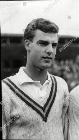 Tony Pickard British Tennis Player.