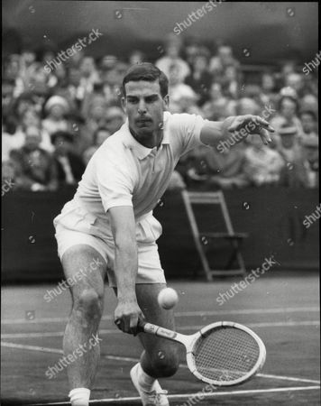 Tony Pickard In Play At The Men's Semi Final At Bournemouth.