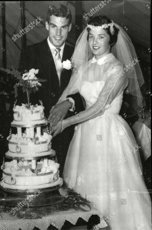 Wedding Of Tennis Player Tony Pickard And Janet Sisson.