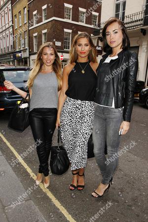 Editorial image of Celebrities at the Arts Club, London, Britain - 19 Jun 2014
