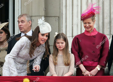 Catherine Duchess of Cambridge, Estella Taylor and Lady Helen Taylor