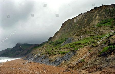 Stock Picture of THE CLIFF BOBBI FELL DOWN