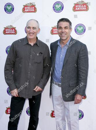 Stock Photo of Brad Gilbert and Chris Fowler