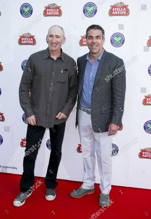 Brad Gilbert and Chris Fowler