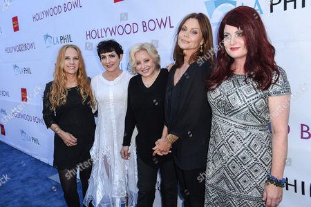 The Go Go's, Charlotte Caffey, Jane Wiedlin, Gina Schock, Belinda Carlisle, Kathy Valentine