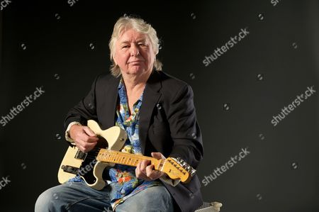 London United Kingdom - September 11: English Guitarist And Songwriter Mick Ralphs Founding Member Of The Bands Mott The Hoople And Bad Company Photographed During A Portrait Shoot For Guitarist Magazine September 11