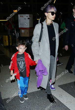Nicole Richie with daughter Harlow Madden