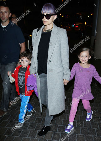 Nicole Richie with daughter Harlow Madden and son Sparrow Madden