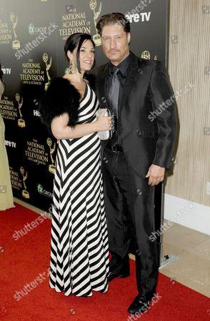 Sean Kanan & wife Michele Vega
