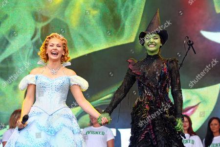 Savannah Stevenson and Willemijn Verkaik from the cast of 'Wicked'