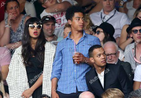 Jameela Jamil, Jordan Stephens and Harley Alexander-Sule