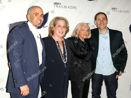 Chris McCarthy, Roberta Kaplan, Edie Windsor and Stephen Friedman