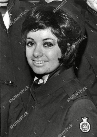 Stock Photo of Lisa Graham Boac Air Hostess.