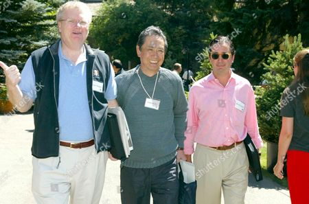 Editorial photo of ALLEN AND CO CONFERENCE IN SUN VALLEY, IDAHO, AMERICA - 09 JUL 2002