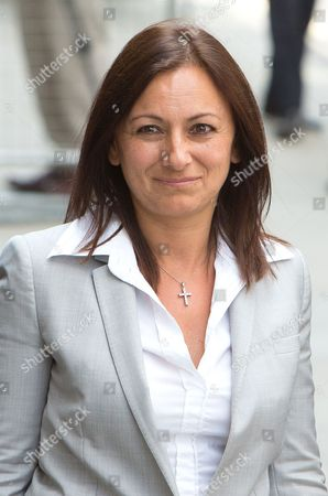 Cheryl Carter leaves the Old Bailey after being cleared of all charges against her, not guilty