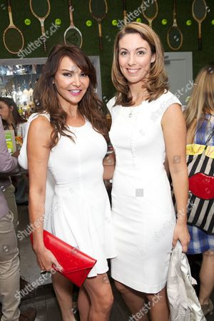 Lizzie Cundy and Emma Crosby