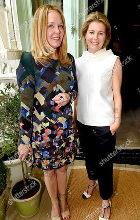 Marin Hopper and Viscountess Serena Linley