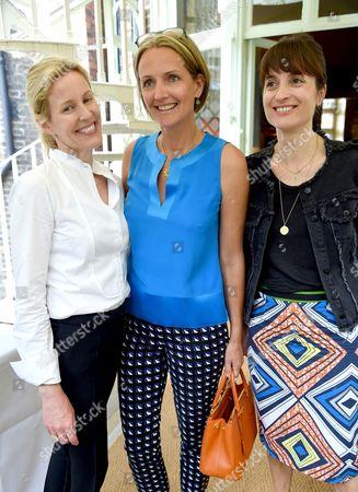 Sydney Ingle-Finch, Saffron Aldridge and Vanessa Gillingham