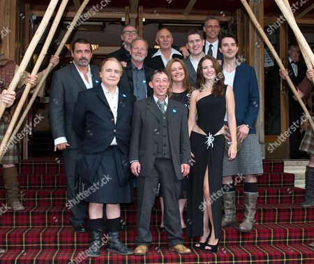 Stock Picture of Angus Macfadyen, Brian Cox, David O'Hara, Peter Mullan, David McKay, John Murtagh, Gerda Stevenson, Andrew Weir, Stephen Billington, Mhairi Calvey and James Robinson