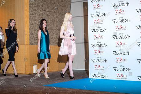 Editorial photo of 'Maleficent' film photocall, Tokyo, Japan - 24 Jun 2014
