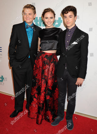 Reese Hartwig, Ella Wahlestedt and Teo Halm