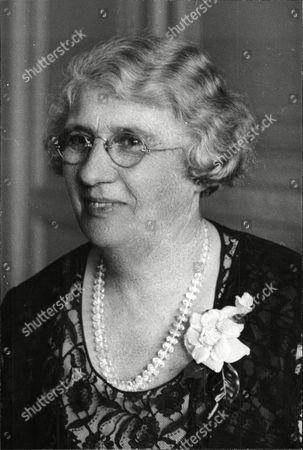 Stock Image of Emma Forbes Wife Of New Zealand Prime Minister George Forbes.