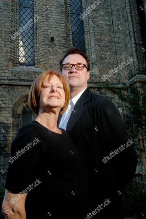Editorial photo of Verity Lambert And Russell T Davies Portrait Shoot, London