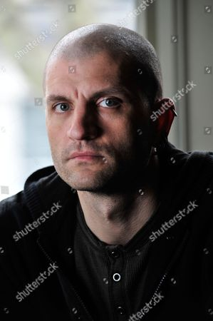 Editorial image of China Mieville Portrait Shoot - April 2012
