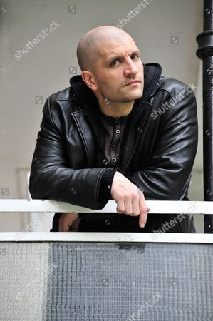 Editorial picture of China Mieville Portrait Shoot - April 2012