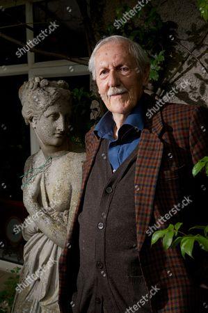 Portrait Of English Science Fiction Author Brian Aldiss