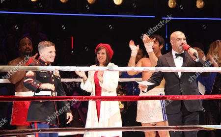 Terence Archie, Cpl Kyle Carpenter, Margo Seibert, Andy Karl, Eric Anderson
