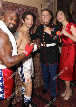 Terence Archie, Andy Karl, Cpl Kyle Carpenter, Margo Seibert