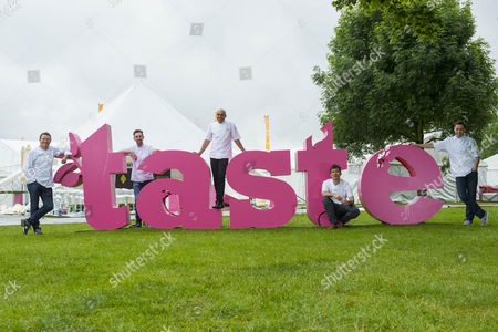 Stock Image of Theo Randall, Andy McFadden, Ben Tish, Pascal Aussignac and Alfred Prasad