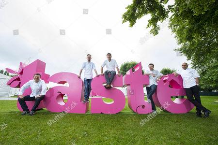 Editorial image of Opening of Taste of London, Britain - 18 Jun 2014