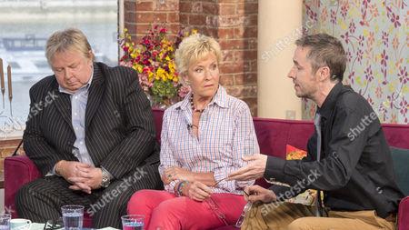 Nick Ferrari, Christine Hamilton and Paul McMullan