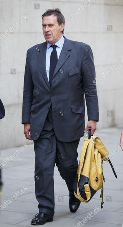 Stock Picture of Clive Goodman, former royal reporter of News of the World