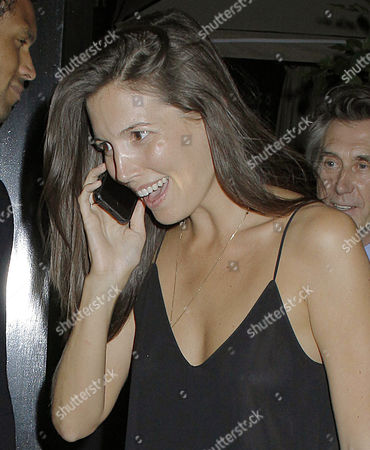 Editorial picture of Celebrities at the Chiltern Firehouse, London, Britain - 12 Jun 2014