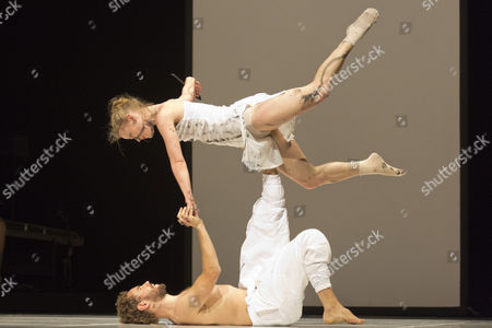 "Guro Nagelhus Schia and Vebjorn Sundby perform ""Pure""."