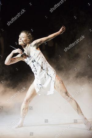 "Stock Photo of Guro Nagelhus Schia and Vebjorn Sundby perform ""Pure""."