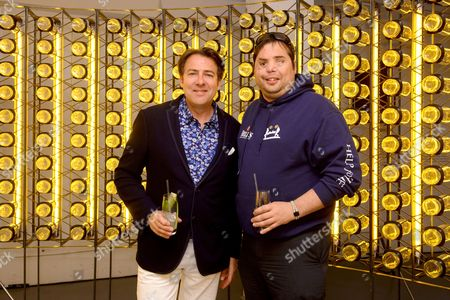 Stock Picture of Jonathan Ross and Simon Brown