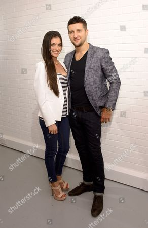 Carl Froch and Rachael Cordingley