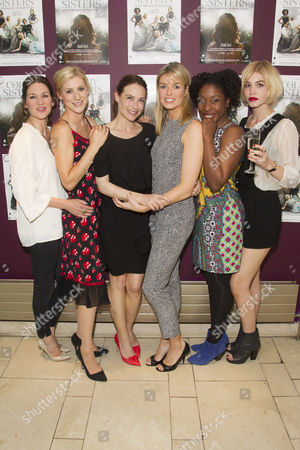 Stock Picture of Patricia Potter, Charlotte Parry, Claire Forlani, Isabella Calthorpe, Ronke Adekoluejo and Alice Sanders