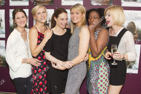 Patricia Potter, Charlotte Parry, Claire Forlani, Isabella Calthorpe, Ronke Adekoluejo and Alice Sanders