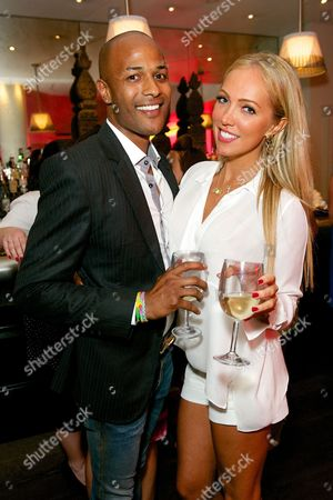 Stock Picture of Steve Slade and Aisleyne Horgan-Wallace