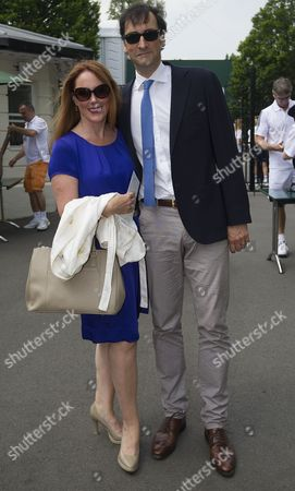 Charlotte Page and Alistair McGowan